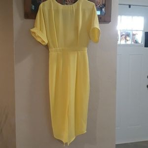 Dresses & Skirts - Asos yellow dress